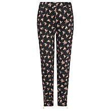 Buy Somerset By Alice Temperley Girls' Pine Cone Print Trousers, Black Online at johnlewis.com
