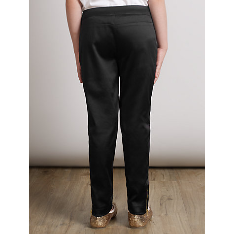 Buy Somerset by Alice Temperley Girls' Stretch Trousers, Black Online at johnlewis.com