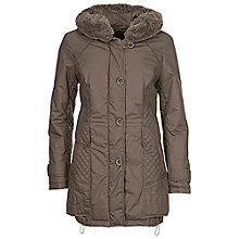 Buy Betty Barclay Padded 3/4 Jacket, Cacao Online at johnlewis.com