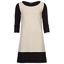 Buy Betty Barclay Jersey Dress, Beige / Black Online at johnlewis.com