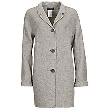 Buy Betty Barclay Blanket Wool Coat, Grey Melange Online at johnlewis.com