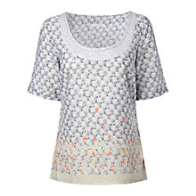 Buy White Stuff Wishing Well Top, Dream Blue Online at johnlewis.com