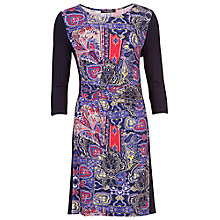 Buy Betty Barclay Abstract Print Dress, Dark Blue/Red Online at johnlewis.com