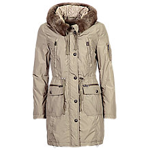 Buy Betty Barclay Padded Parka Jacket, Fallen Rock Online at johnlewis.com