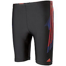 Buy Adidas Tech Range Long Length Boxer Swim Shorts Online at johnlewis.com