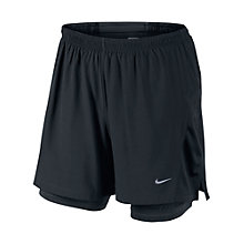 "Buy Nike 5"" Stamina 2 in 1 Shorts Online at johnlewis.com"