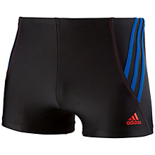 Buy Adidas Tech Range Boxer Swim Shorts Online at johnlewis.com