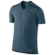 Buy Nike Tailwind Short Sleeve V-Neck T-Shirt Online at johnlewis.com