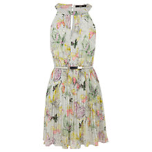 Buy Oasis Butterfly Dress, Multi / Grey Online at johnlewis.com