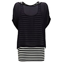 Buy Mint Velvet Stripe Top, Stripe Online at johnlewis.com
