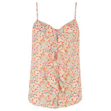Buy Oasis Floral Ditsy Shell Top, Multi Online at johnlewis.com
