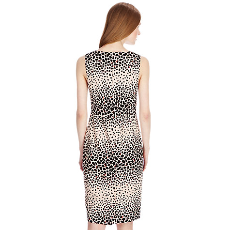 Buy Oasis Animal Print Dress, Multi/Natural Online at johnlewis.com