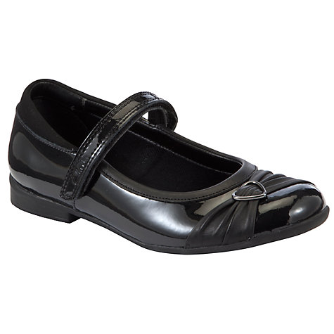 Buy Clarks Dolly Heart Shoes, Black Online at johnlewis.com