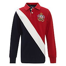 Buy Hackett Boys' London Sash Rugby Shirt Online at johnlewis.com
