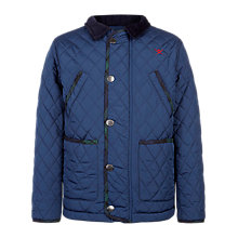 Buy Hackett Boys' London British Paddock Jacket, Navy Online at johnlewis.com