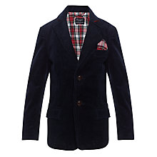 Buy Hackett Boys' London Corduroy Blazer, Navy Online at johnlewis.com