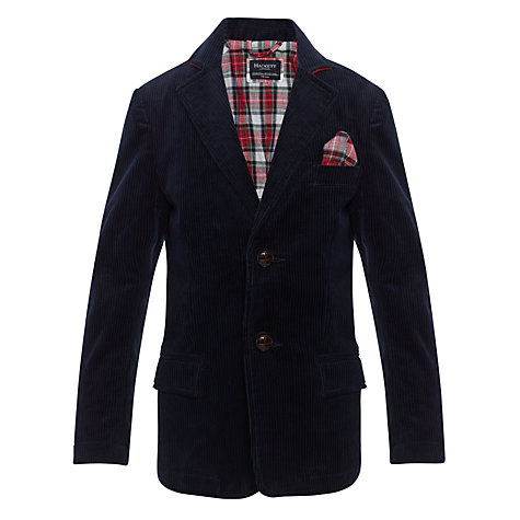 Buy Hackett London Boys' Corduroy Blazer Online at johnlewis.com