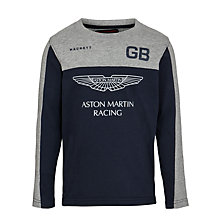 Buy Hackett Boys' Aston Martin Racing Logo Top Online at johnlewis.com
