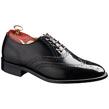 Buy Barker Albert Brogue Leather Oxford Shoes Online at johnlewis.com