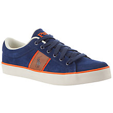 Buy Polo Ralph Lauren Bolingbrook II Suede Trainers Online at johnlewis.com