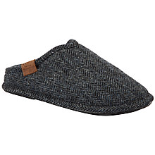 Buy Bedroom Athletics William Harris Tweed Mule Slippers Online at johnlewis.com