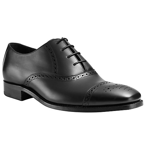 Buy Barker Flynn Goodyear Welt Brogue Derby Shoes Online at johnlewis.com