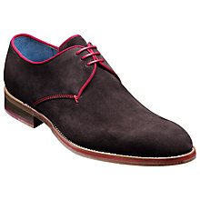 Buy Barker Rebus Suede Goodyear Welt Derby Shoes Online at johnlewis.com