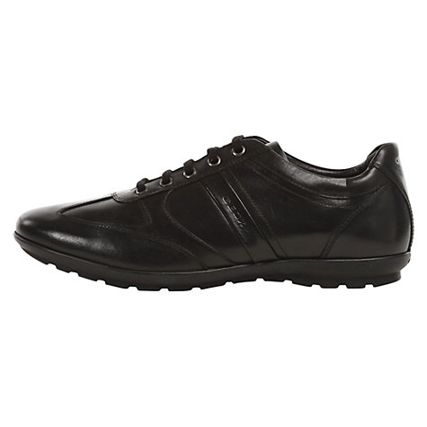 Buy Geox Symbol Leather Trainers Online at johnlewis.com