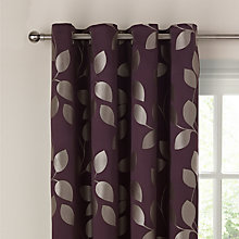 Buy John Lewis Xanthia Trail Eyelet Curtains Online at johnlewis.com