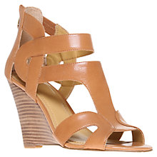 Buy Nine West Merle Wedged Sandals, Brown Online at johnlewis.com