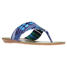 Buy Nine West WantMore2 Flip-Flops, Blue Online at johnlewis.com