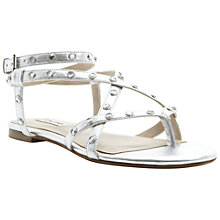 Buy Dune Kiwi Strappy Diamanté Sandals Online at johnlewis.com