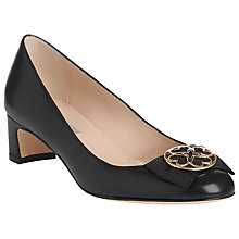 Buy L.K. Bennett Robin Heels, Black Online at johnlewis.com