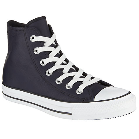 Buy Converse Chuck Taylor All Star Leather Hi-Top Trainers Online at johnlewis.com