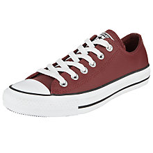 Buy Converse Chuck Taylor All Star Ox Leather Trainers Online at johnlewis.com