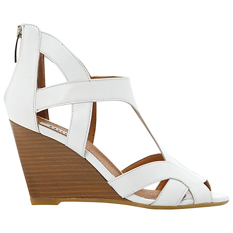 Buy Dune Gemah Cutout Wedged Sandals Online at johnlewis.com