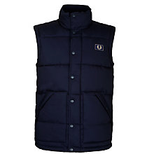 Buy Fred Perry Quilted Gilet Online at johnlewis.com