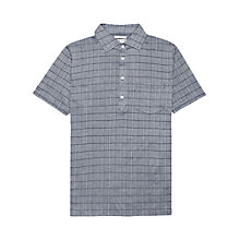 Buy Reiss Montgomery Check Short Sleeve Polo Shirt Online at johnlewis.com