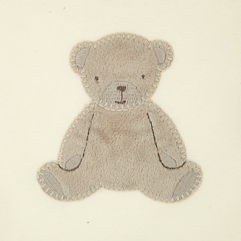 Buy John Lewis Baby Bear Sleeping Bag, 2.5 Tog, Neutrals Online at johnlewis.com