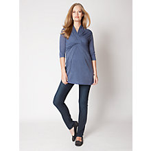 Buy Seraphine Galvina Top, Dusty Blue Online at johnlewis.com