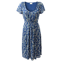 Buy East Ezra Print Dress, Ceramic Online at johnlewis.com
