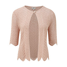 Buy CC Crochet Cardigan, Pale Gold Online at johnlewis.com
