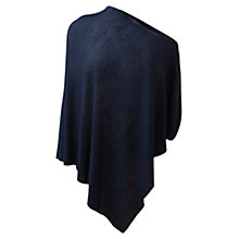 Buy East Linen Poncho, Royal Blue Online at johnlewis.com