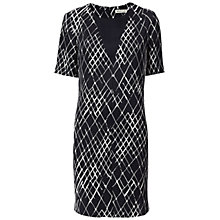 Buy Whistles Net Print Dress, Multicolour Online at johnlewis.com