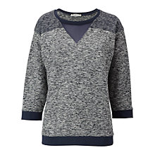 Buy Whistles Camille Sweatshirt, Navy Online at johnlewis.com