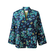 Buy East Okinawa Printed Jacket, Royal Blue Online at johnlewis.com