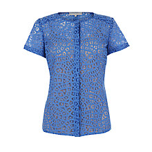 Buy Fenn Wright Manson Gwen Top, Sea Blue Online at johnlewis.com