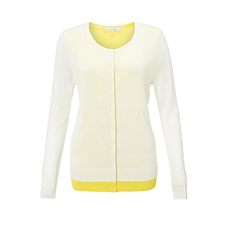 Buy Fenn Wright Manson Belles Cardigan, White/Citron Online at johnlewis.com