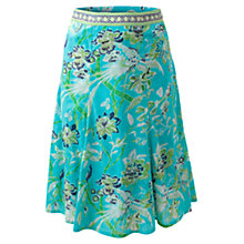 Buy East Anokhi Paradise Skirt, Turquoise Online at johnlewis.com