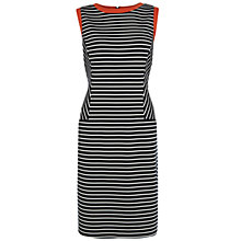 Buy Fenn Wright Manson Marlo Dress, Navy/White Online at johnlewis.com